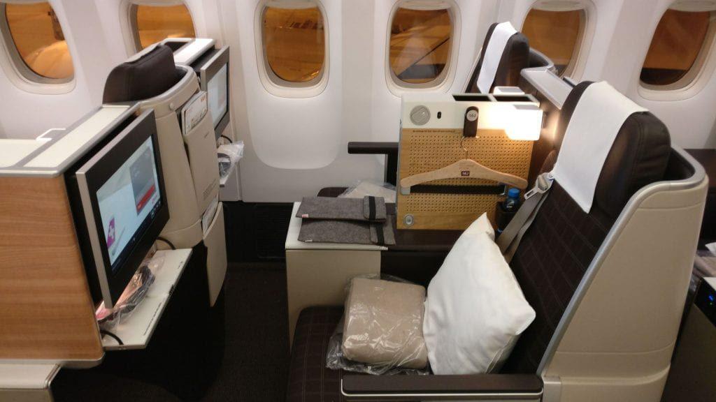 Swiss Business Class Boeing 777 2 1024x576