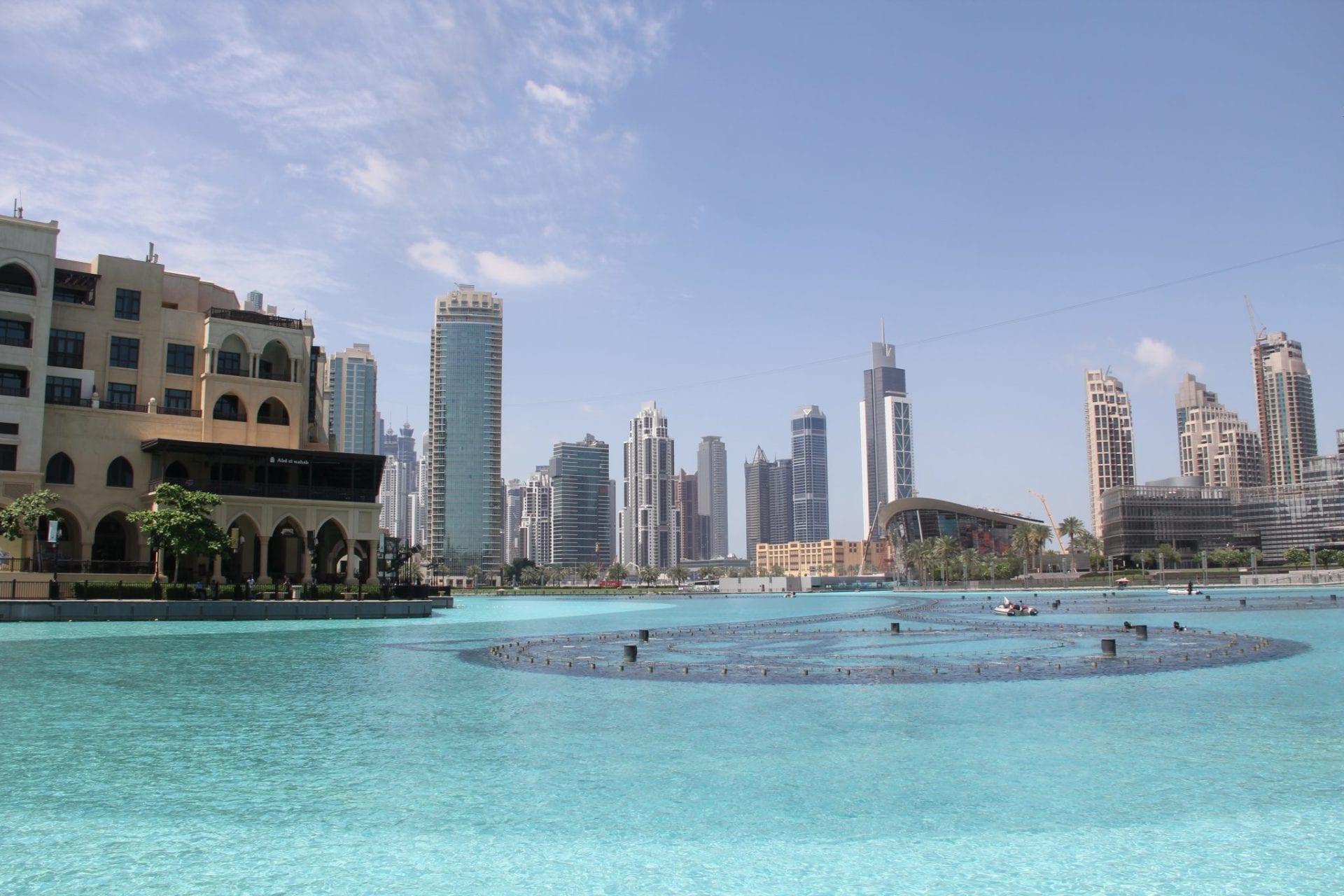 Dubai Burj Khalif Lake