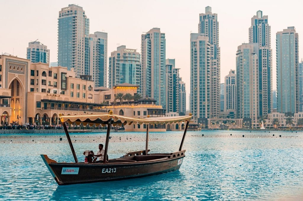 Dubai Skyline Downtown 1024x681
