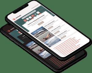 Newsletter Phone Both