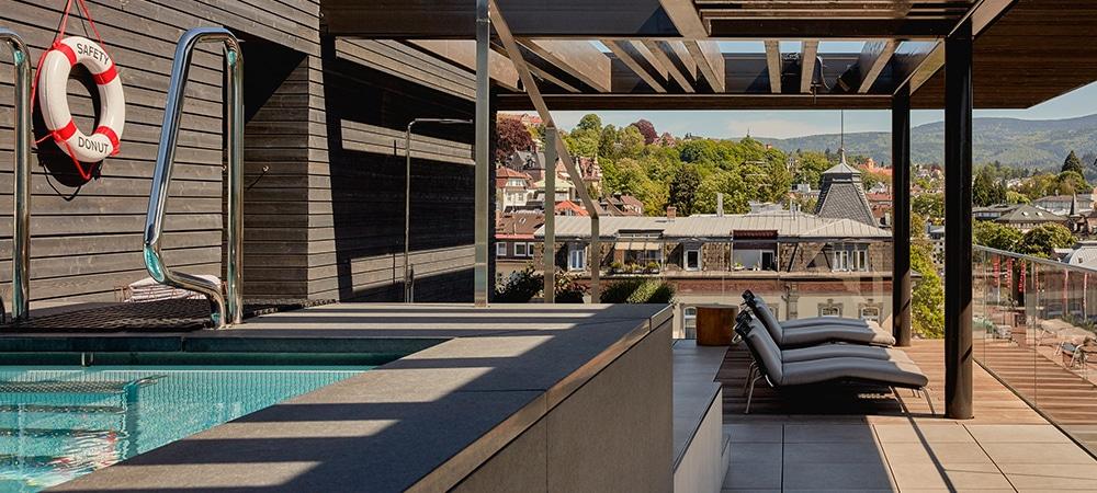 Roomers Badenbaden Rooftop View 1