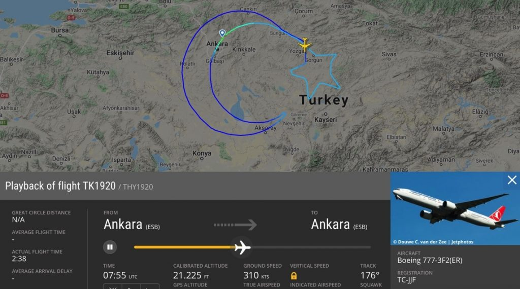 Turkish Airlines Flight