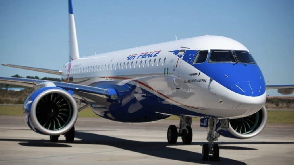Air Peace Embraer E195 E2