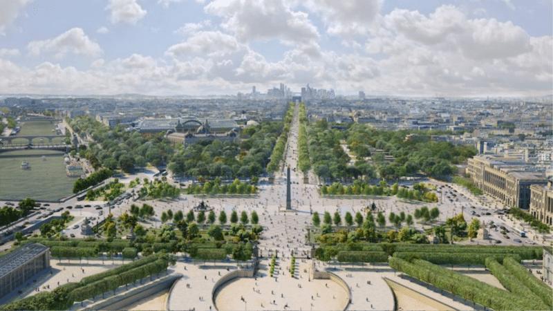 Champs Elysee Jardin