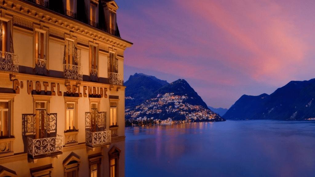 Hotel Splendide Royal Lugano Aussenansicht