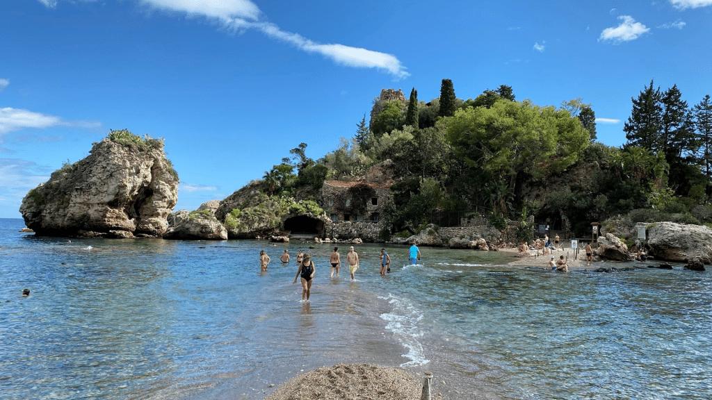 Isola Bella Sizilien