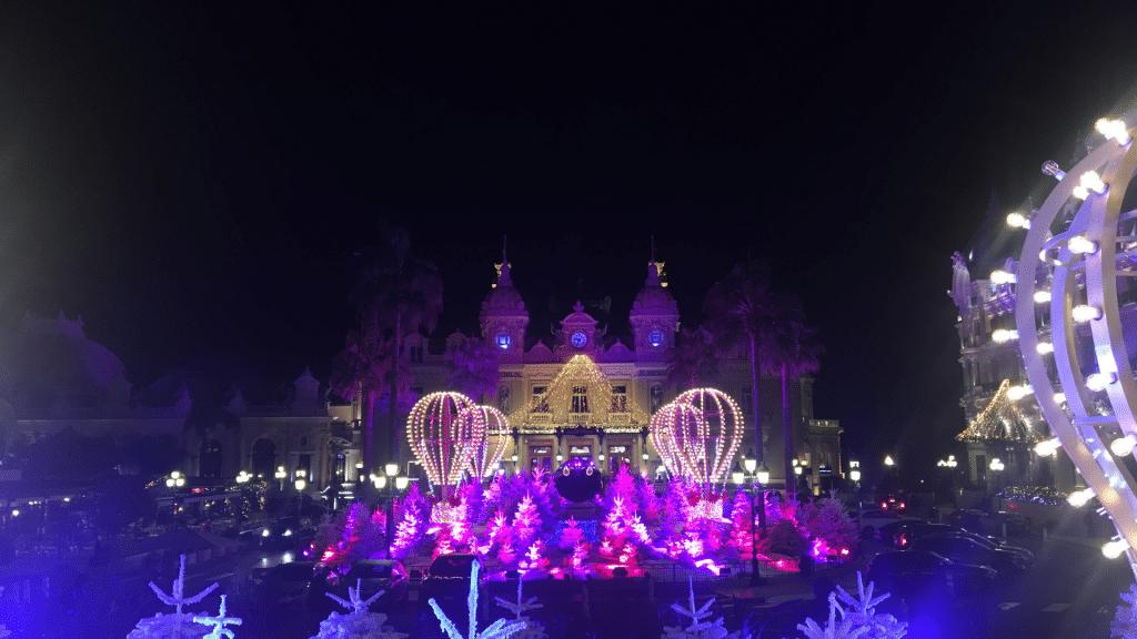 Monaco Casino Weihnachtszeit