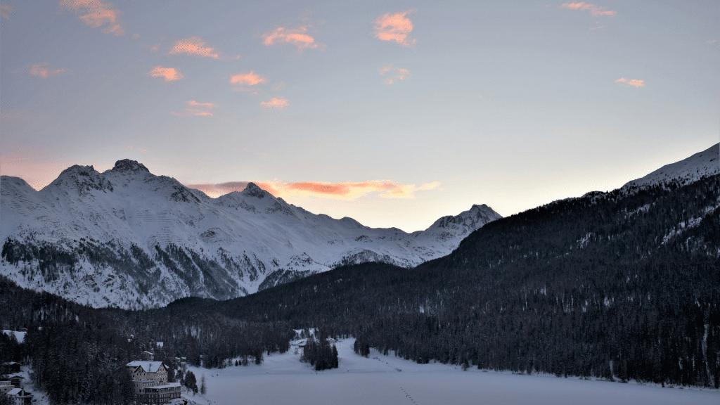 St. Moritz Skigebiet