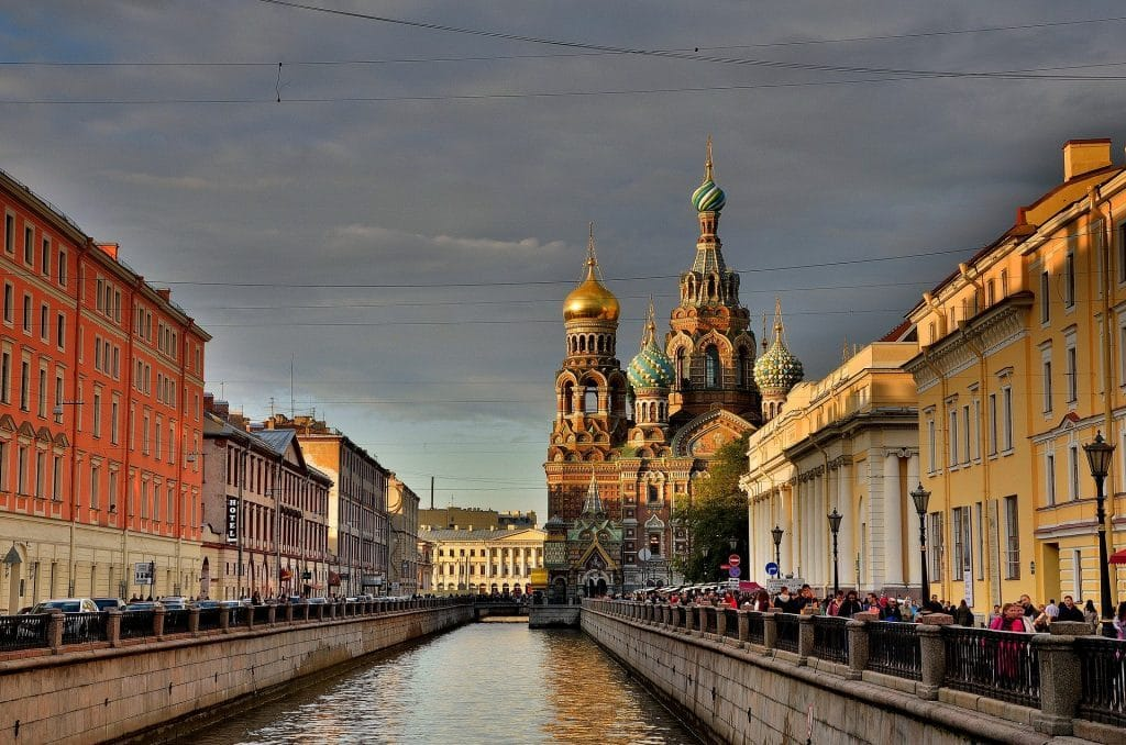 St. Petersburg Russland 1024x678