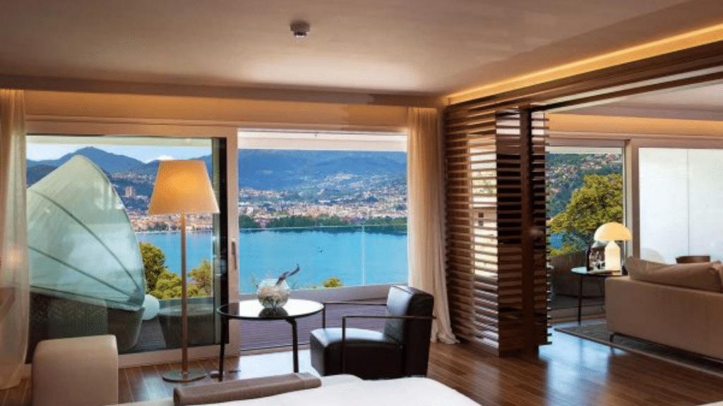 The View Lugano Zimmer