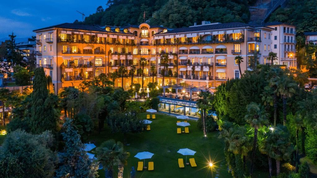Villa Castagnola Lugano Small Luxury Hotel Schweiz