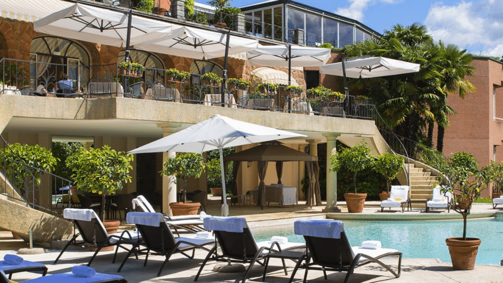 Villa Principe Lugano Pool