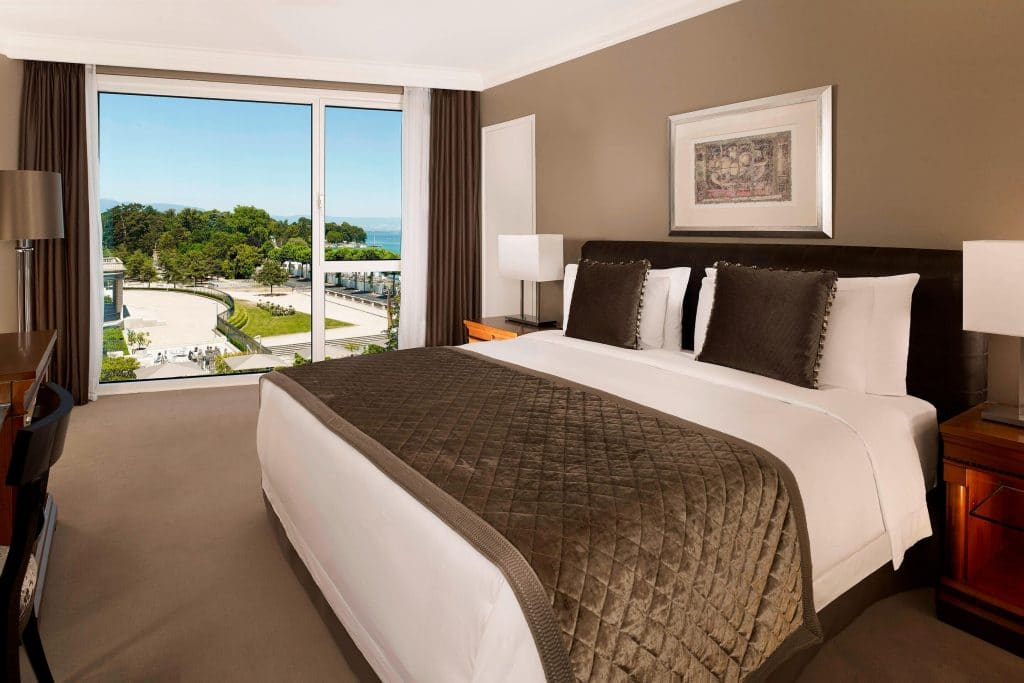 Hotel President Wilson Genf, Zimmer, Marriott Hotel
