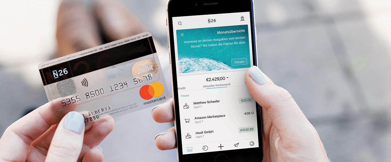 N26 Mastercard Smartphone