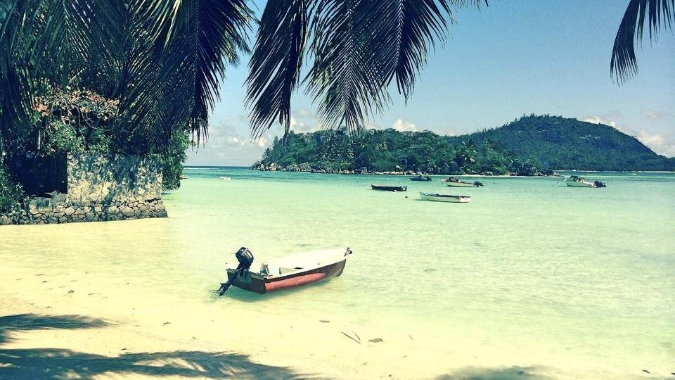 Seychellen Boot