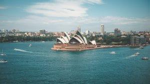 Australien Reiseblase