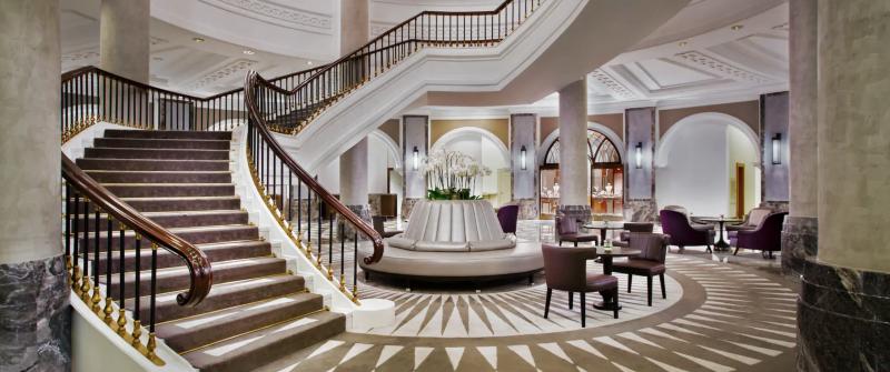 hilton conrad istanbul lobby