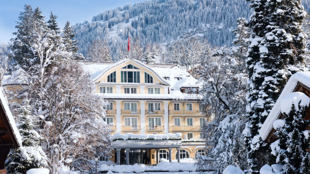 Grand Bellevue Gstaad Small Luxury Hotel Schweiz
