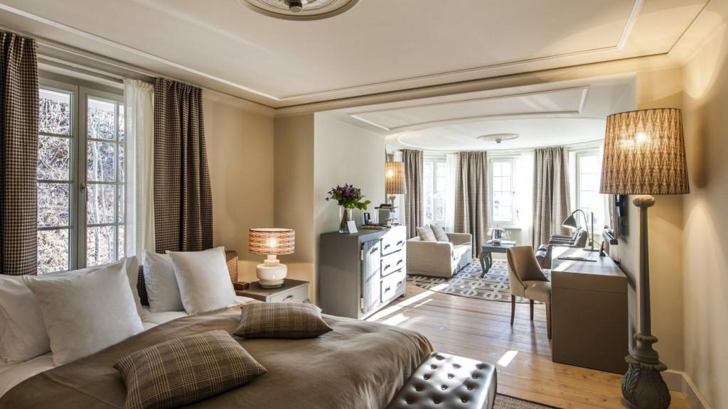 Grand Bellevue Gstaad Suite