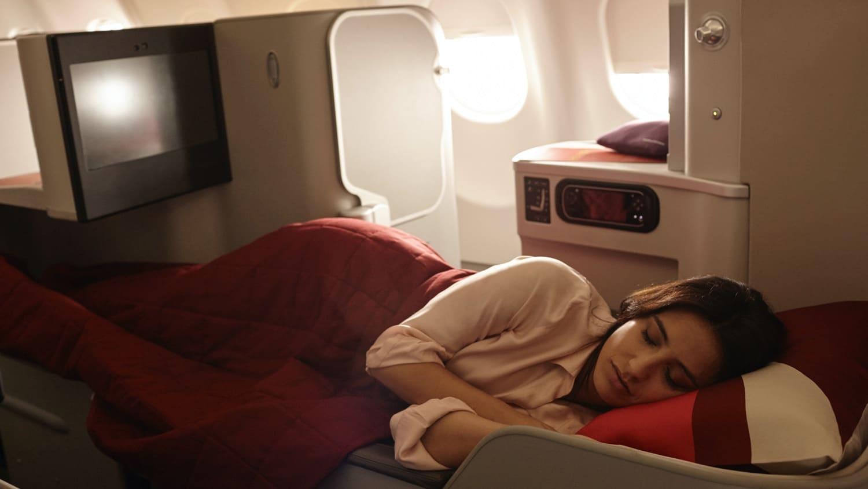 Iberia Business Class Bett