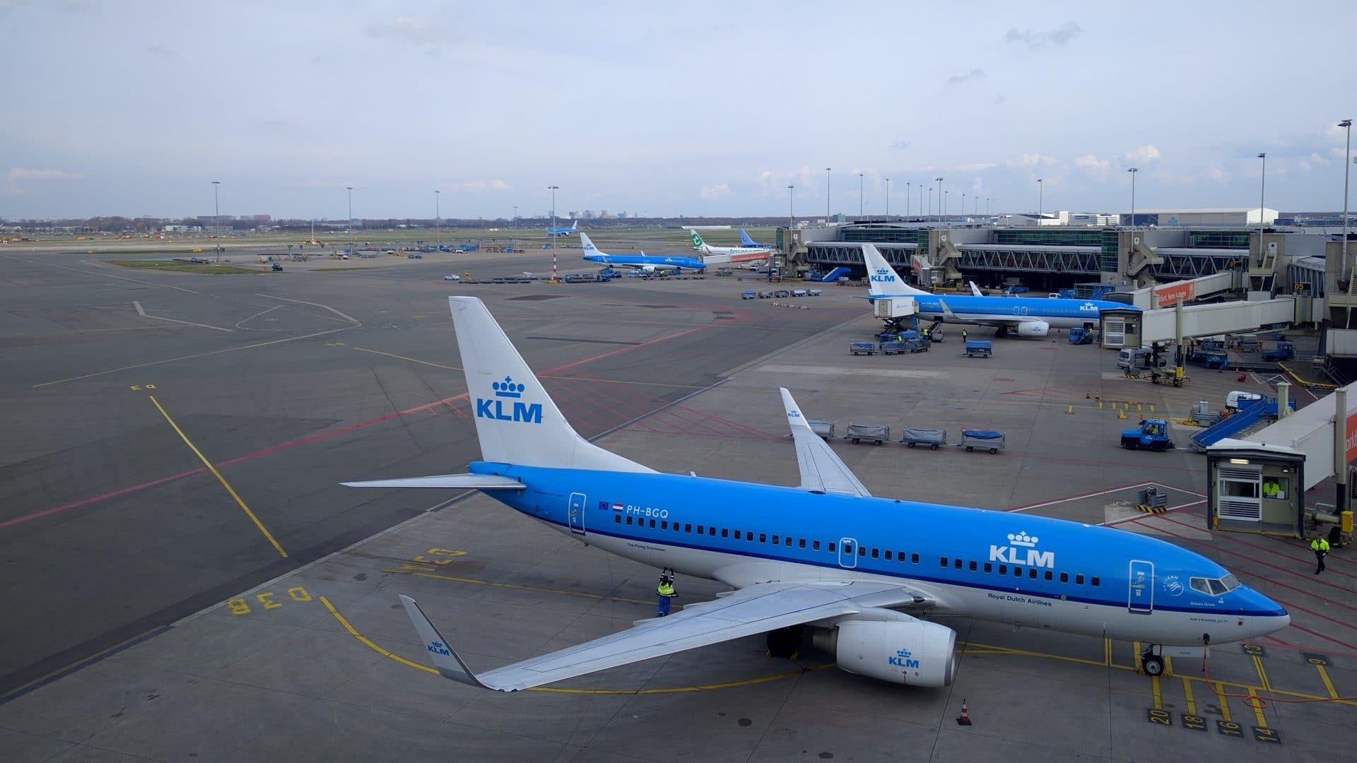 KLM Upload at Home