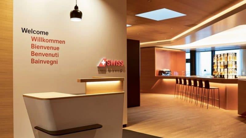 Swiss First Lounge