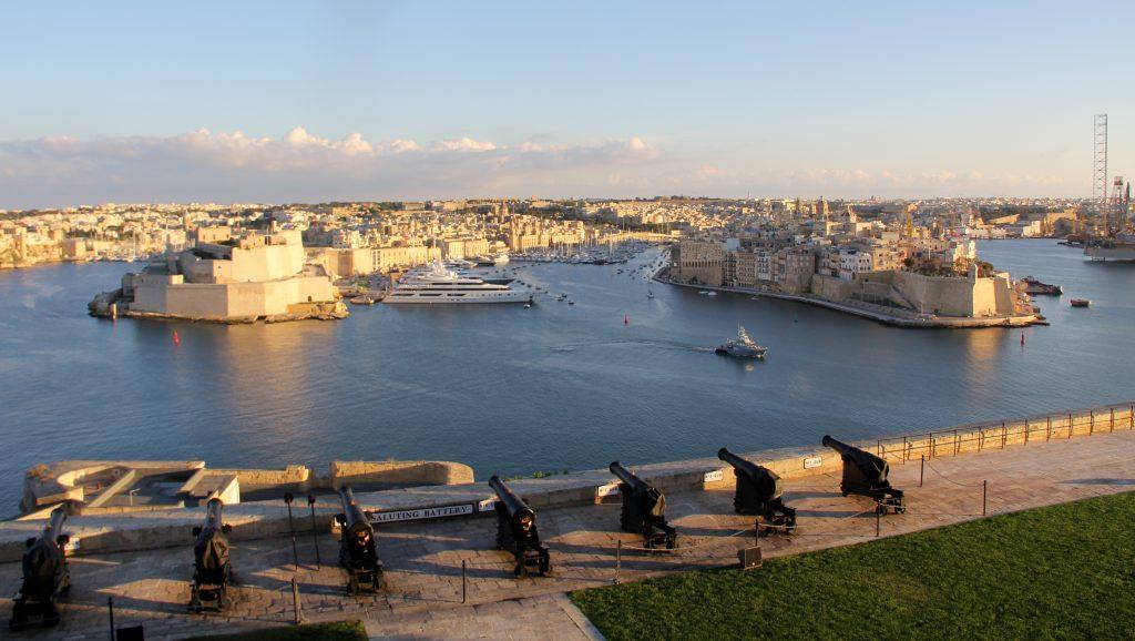 Valletta The Saluting Battery
