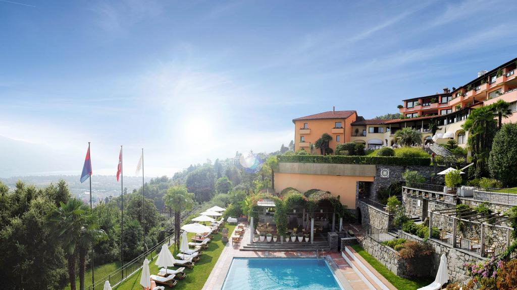 Small Luxury Hotel Villa Orselina Locardno Schweiz