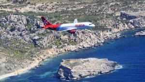 Air Malta Küste Cropped