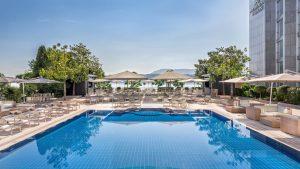 Hotel President Wilson Genf Pool
