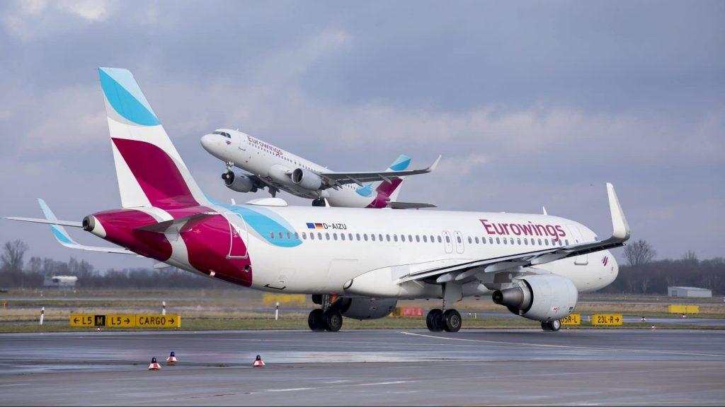 Eurowings A320 Runway Action E1605009365740