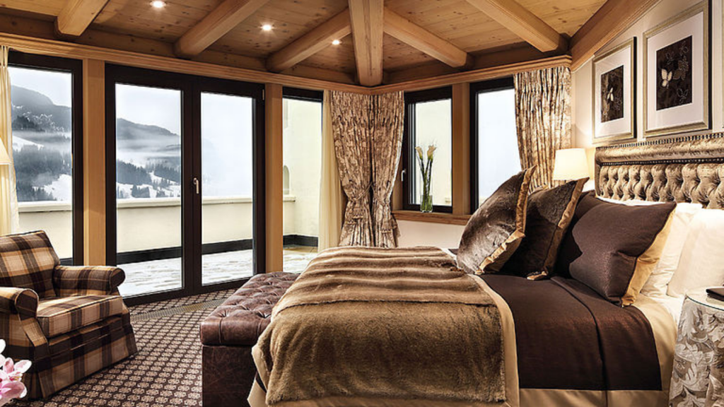 Gstaad Palace Zimmer