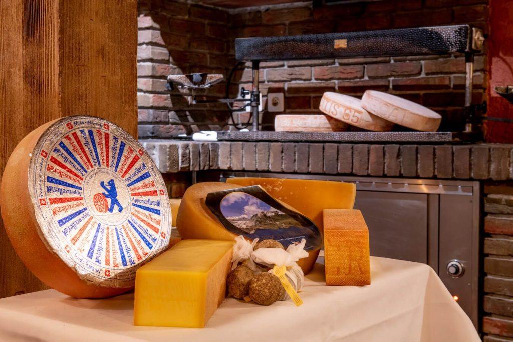 Käse Luxushotel Zum Wandern Schweiz
