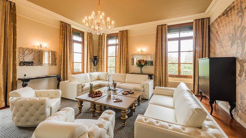 Luxushotel Genf Wohnzimmer