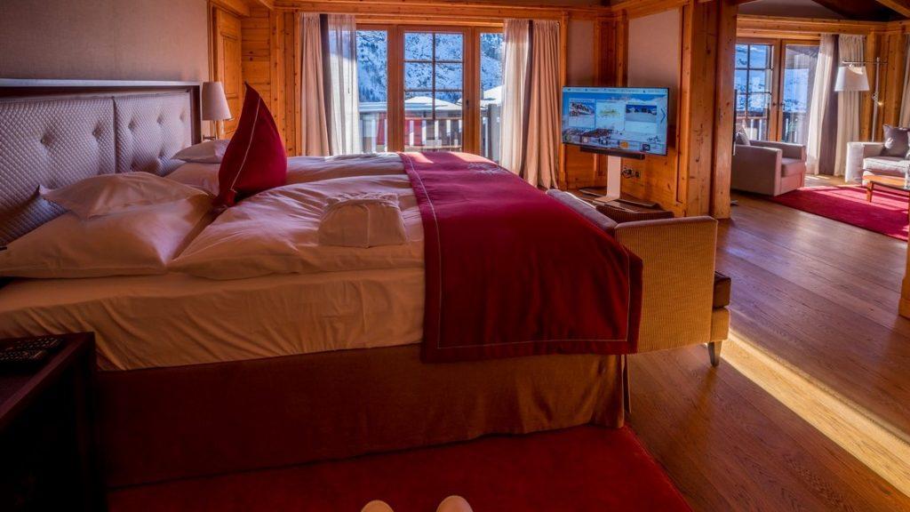 Suite Matterhorn Luxushotels Zum Wandern