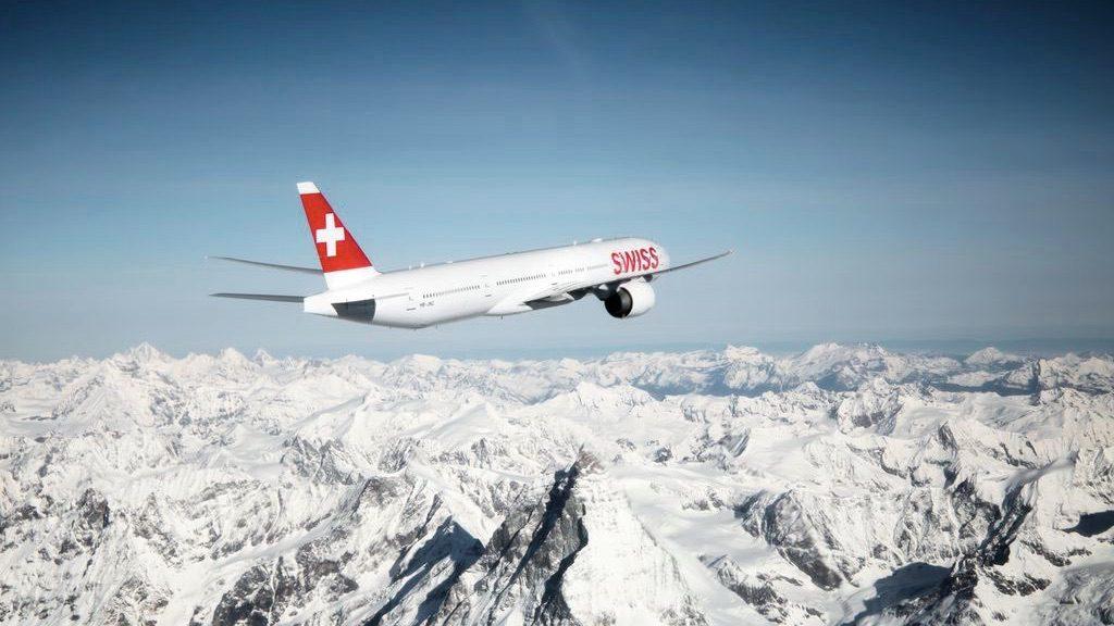 Swiss 777 Boeing Aplen