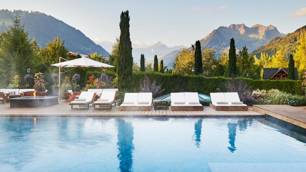The Alpina Gstaad Pool