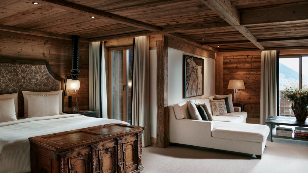 The Alpina Gstaad Zimmer