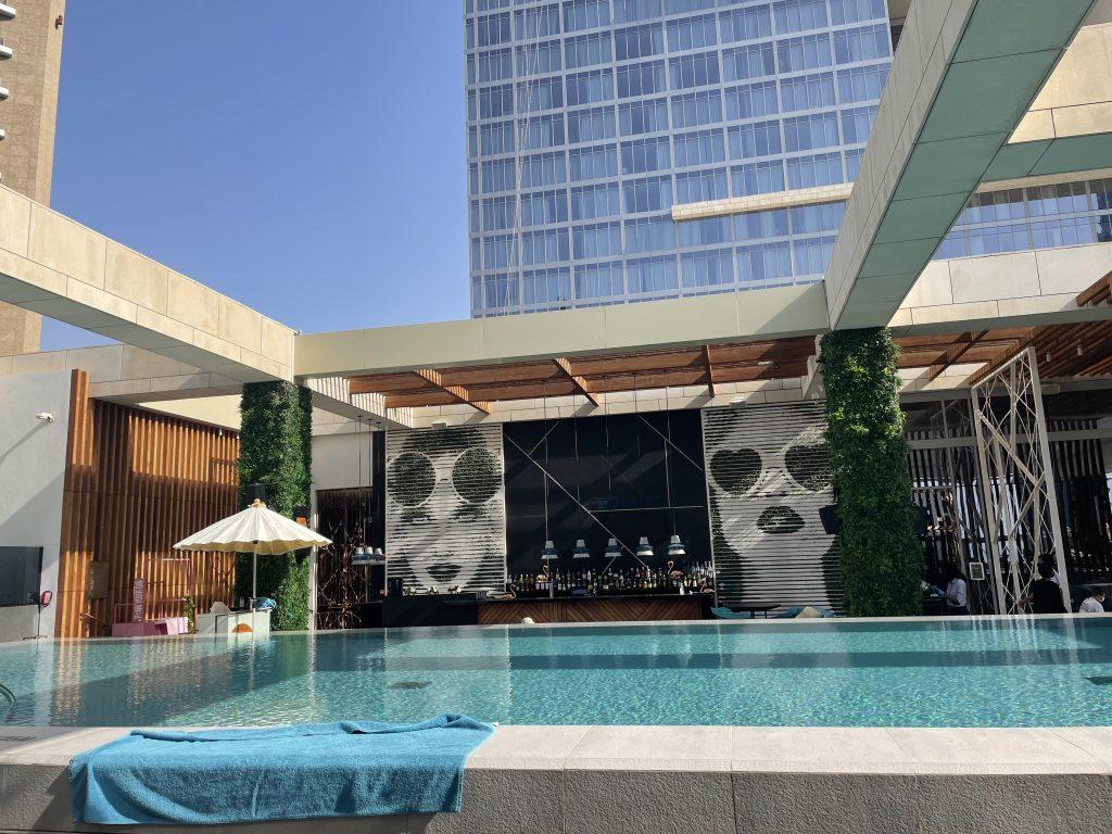 Waldorf Astoria Dubai International Financial Centre Poolanlage