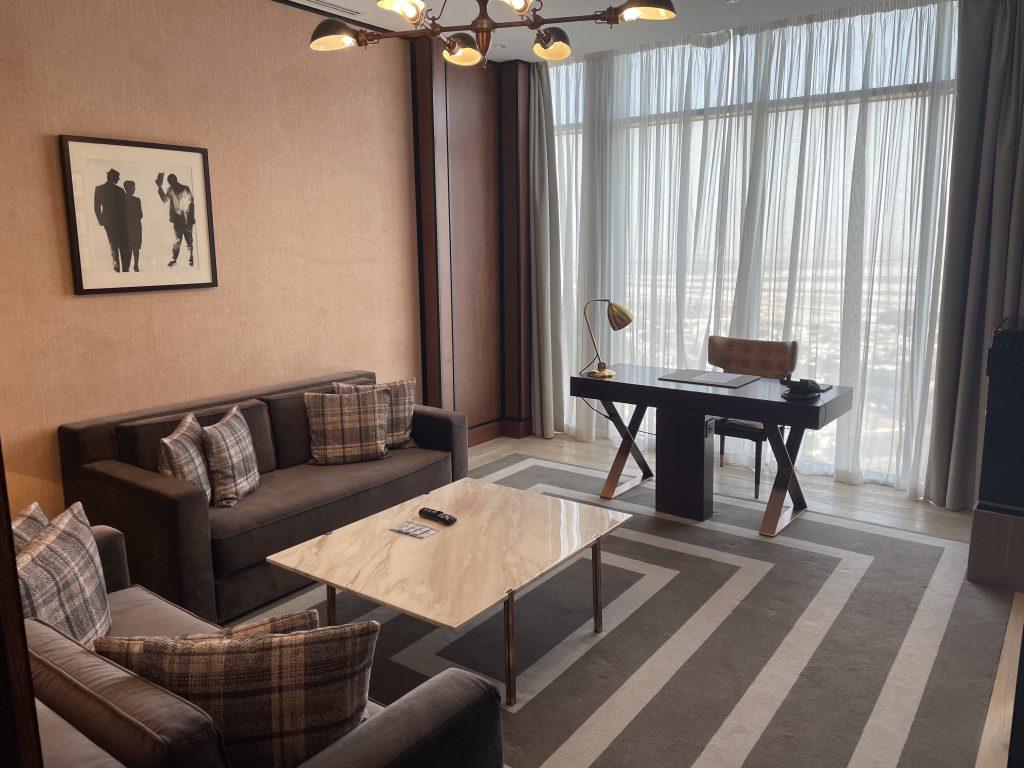 Waldorf Astoria Dubai International Financial Centre Wohnzimmer