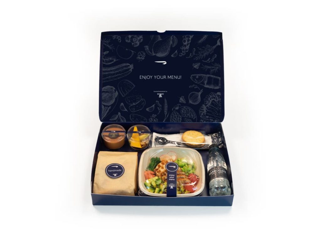 British Airways Business Class Neues Catering 1024x768