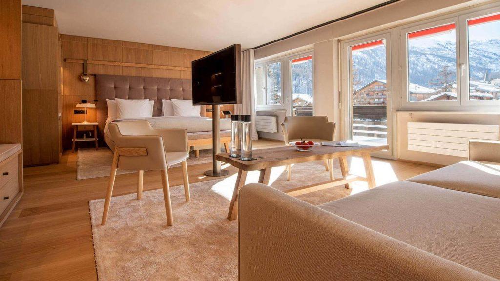 Junior Suite Luxushotel Zum Wandern Schweiz