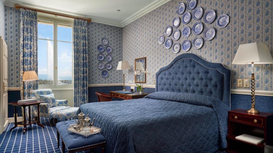 Luxushotels Genf Zimmer