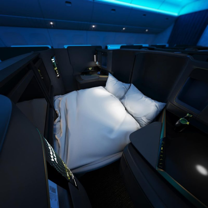 2 Lie Flat Business Class