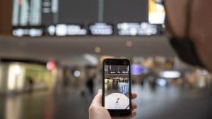 Flughafen Zürich «Live View»