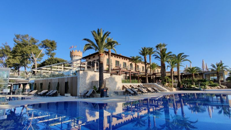 Castillo Hotel Son Vida Mallorca Außenpool 6