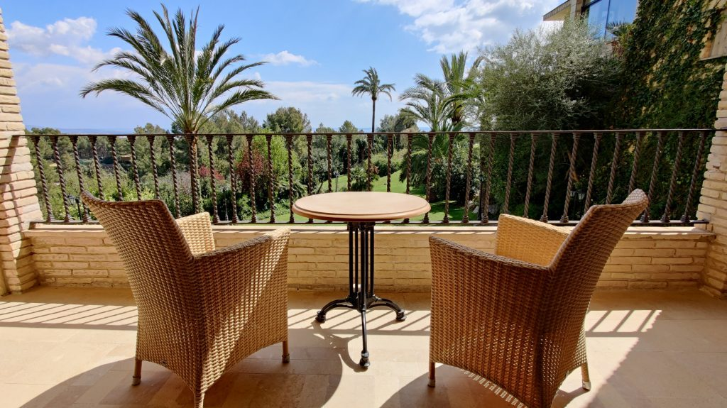 Castillo Hotel Son Vida Mallorca Zimmer Balkon 2 1024x575