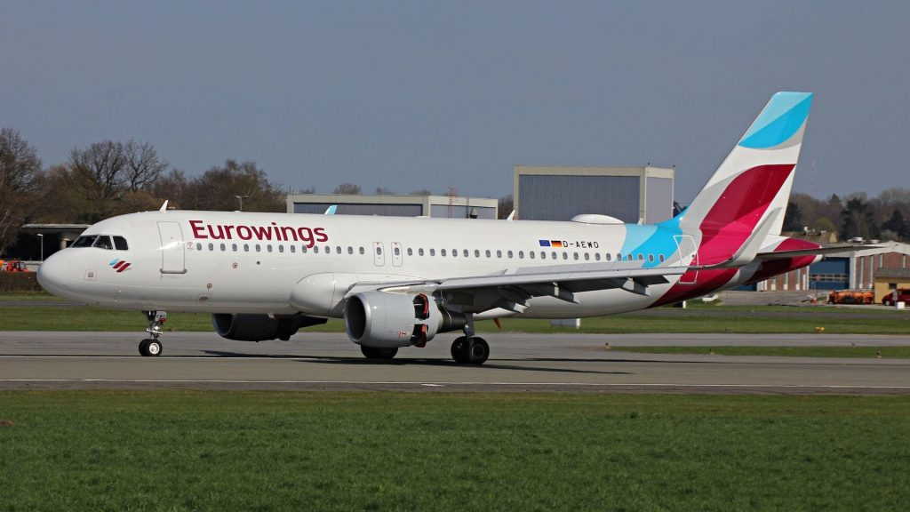 Eurowings Airbus A320 Cropped 1024x576
