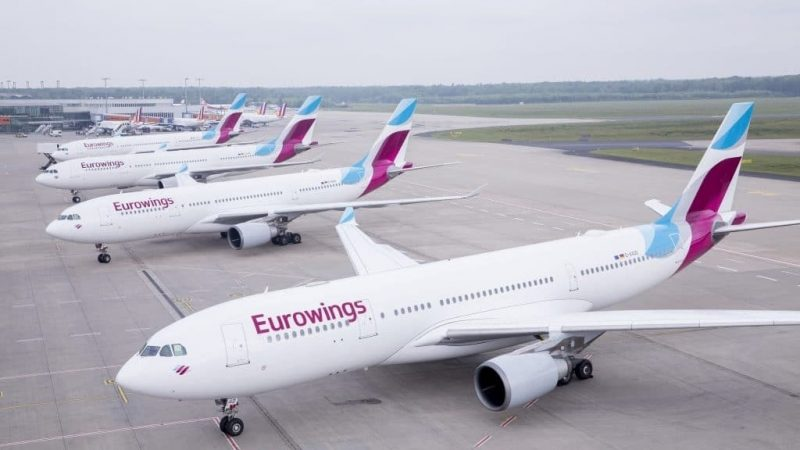 Eurowings A330 Line Up I 1024x683 Cropped