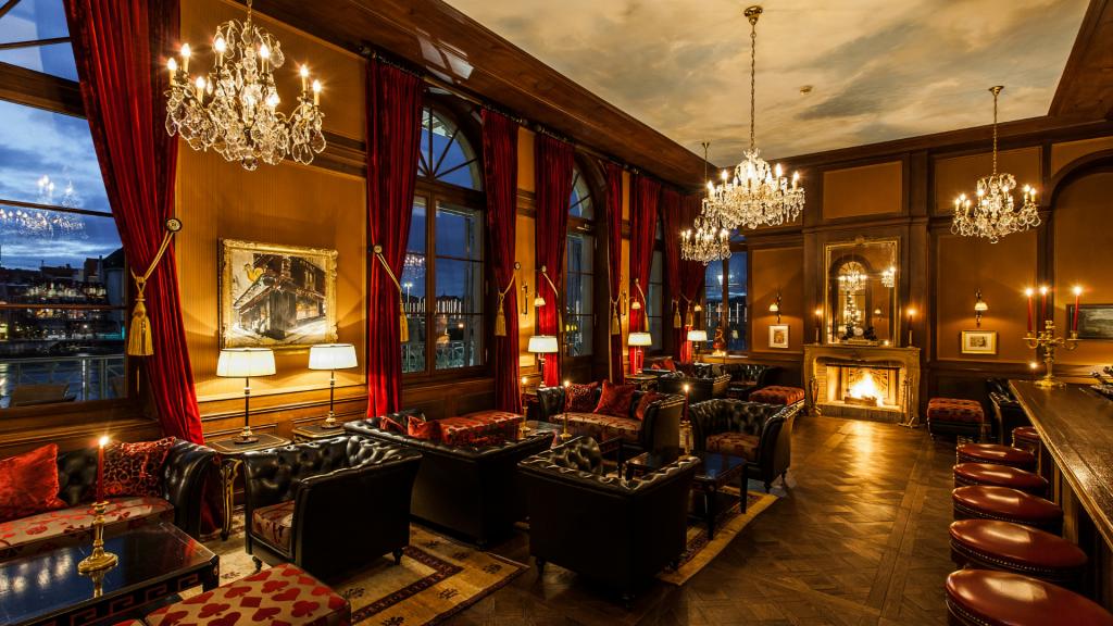 Les Trois Rois Basel Bar